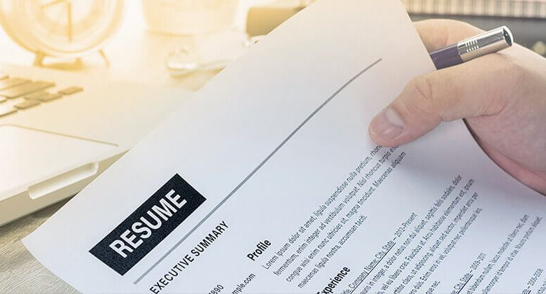 Why You Requires A Professional Resume?